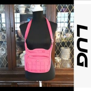 HOST PICK Lug crossbody pink purse